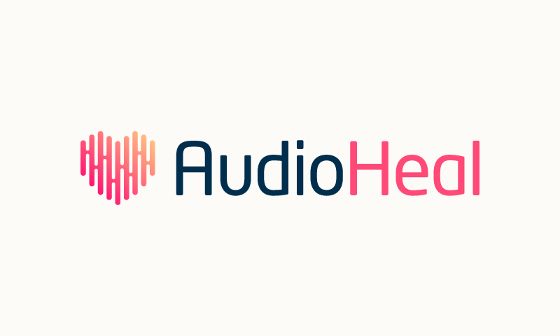 Audioheal - Wellness company name for sale
