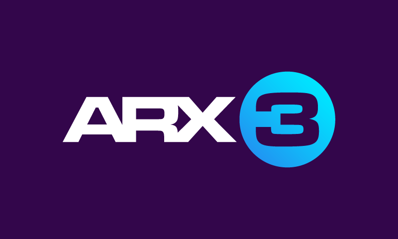 Arx3 - Music startup name for sale