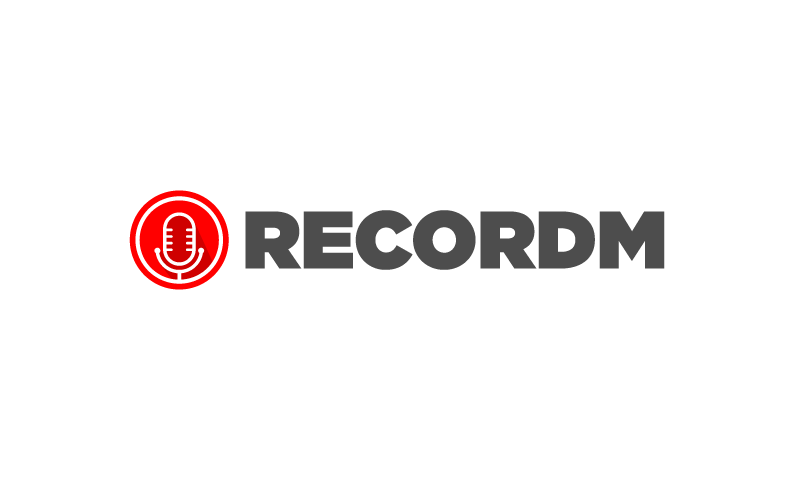 Recordm - Audio startup name for sale