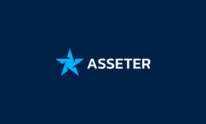 Asseter - Cryptocurrency startup name for sale