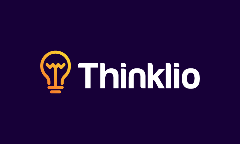 Thinklio - Modern business name for sale