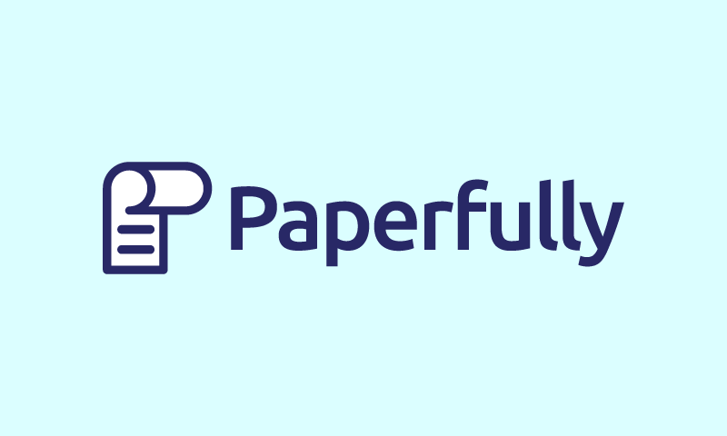 Paperfully - Writing startup name for sale