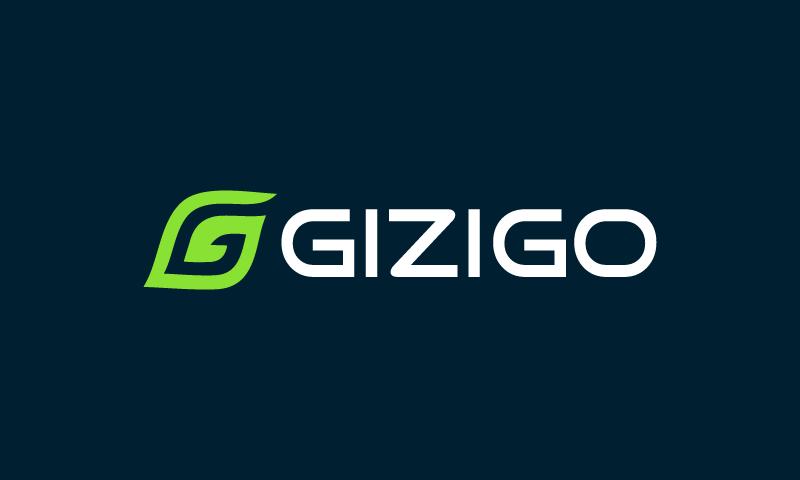 Gizigo - Environmentally-friendly company name for sale