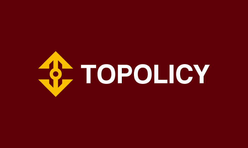 Topolicy - Software startup name for sale