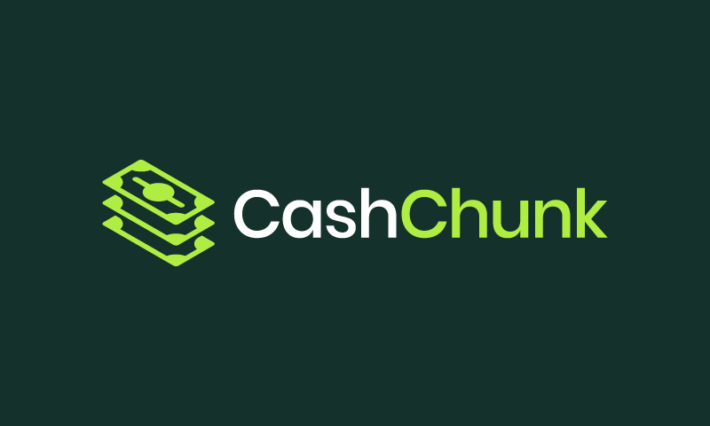 Cashchunk - Finance startup name for sale