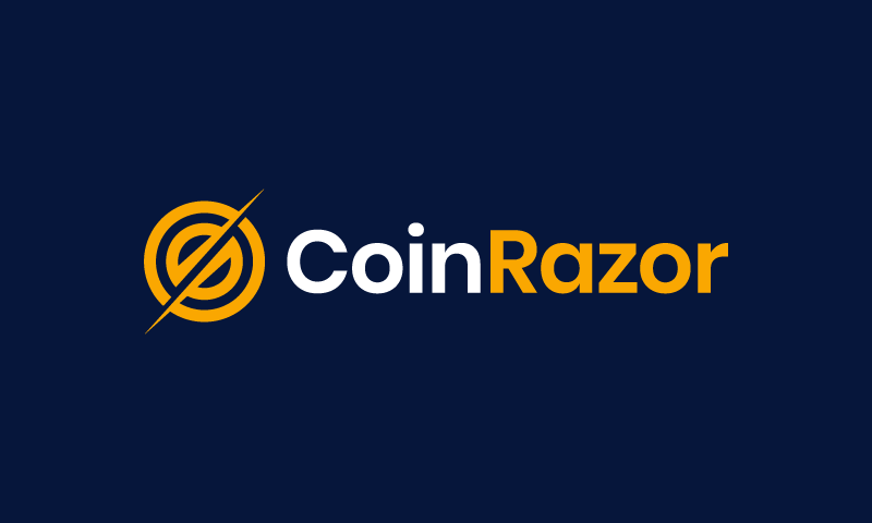 Coinrazor - Cryptocurrency business name for sale