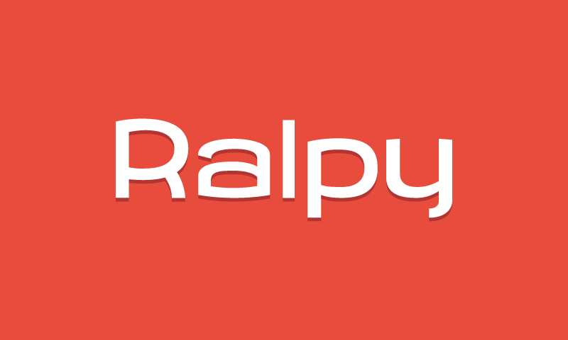 Ralpy - Social domain name for sale
