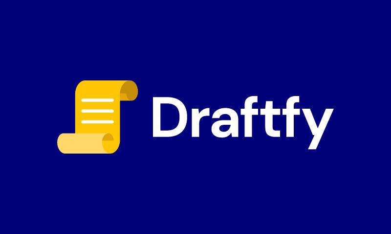 Draftfy - Marketing domain name for sale