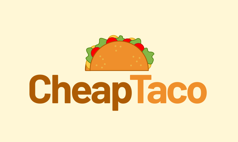 Cheaptaco - Business domain name for sale