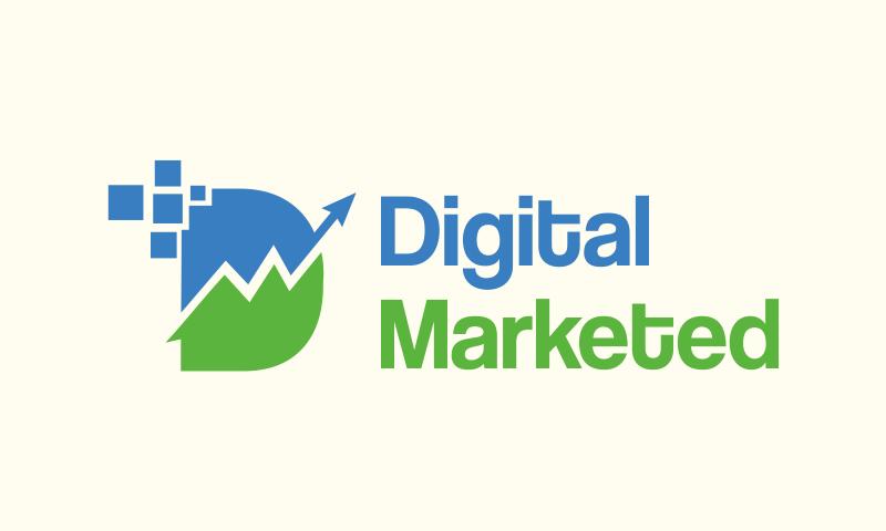 Digitalmarketed - E-commerce startup name for sale