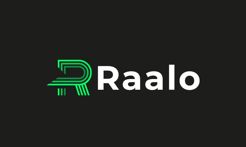 Raalo - Technology domain name for sale