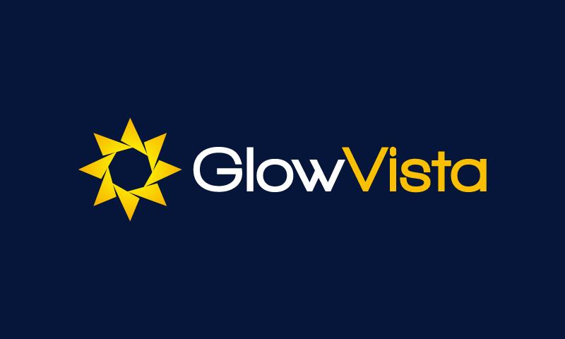 GlowVista logo