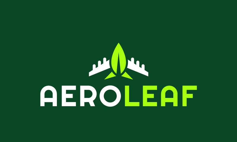 Aeroleaf - Energy company name for sale