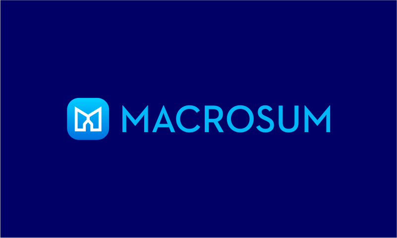 Macrosum - Search marketing brand name for sale