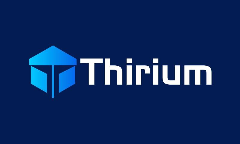 Thirium - E-commerce startup name for sale