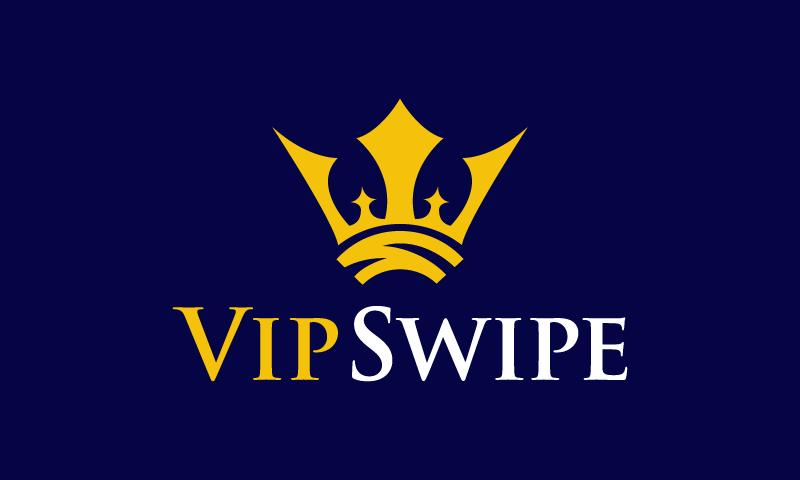Vipswipe - E-commerce startup name for sale