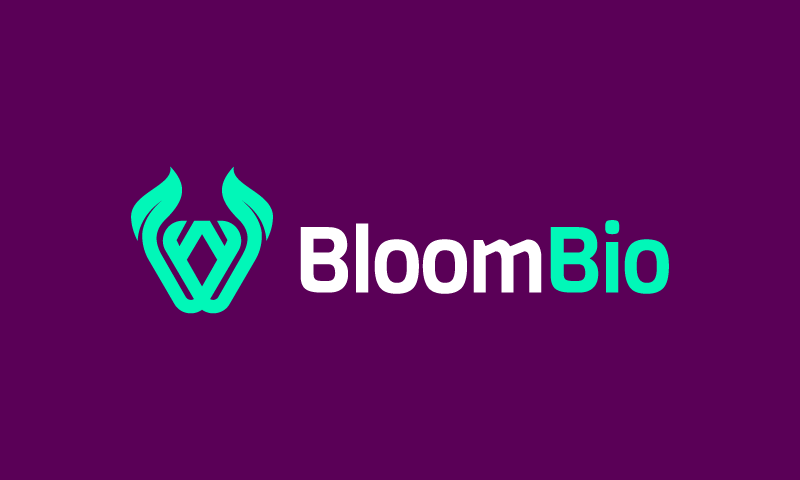 Bloombio - Biotechnology startup name for sale