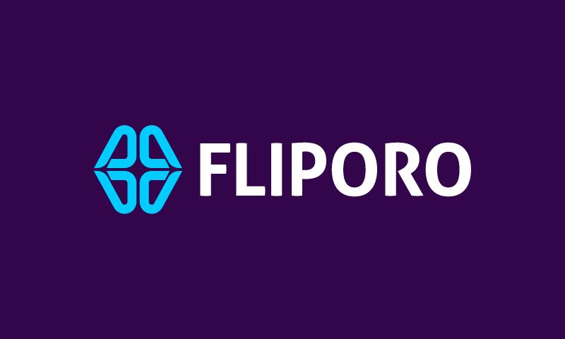 Fliporo - Retail domain name for sale