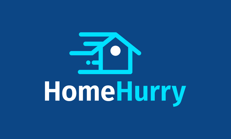 Homehurry - Real estate startup name for sale