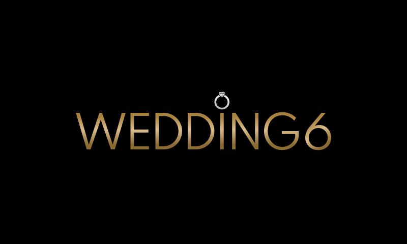 Wedding6 - Weddings startup name for sale