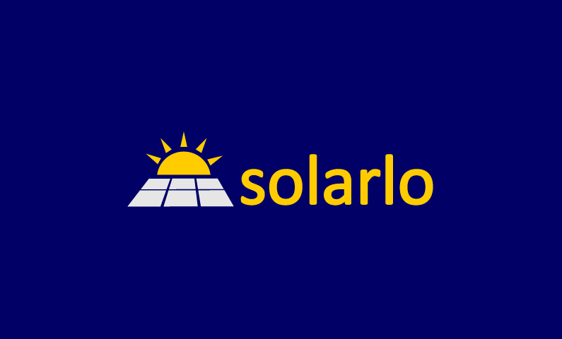 Solarlo logo - Let there be light