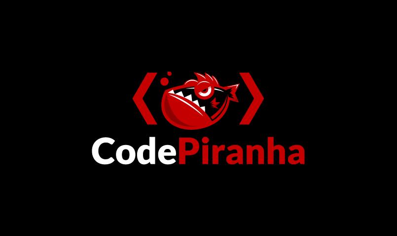 Codepiranha - Programming company name for sale