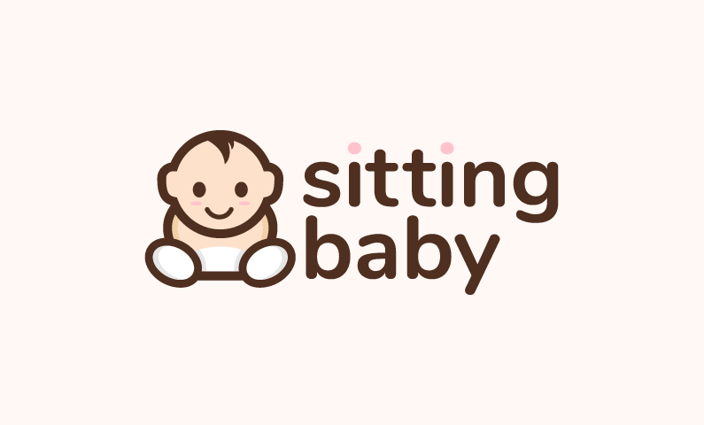 Sittingbaby - Childcare startup name for sale