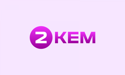 2kem - Technology startup name for sale