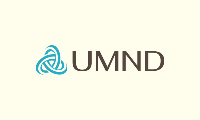 Umnd - Healthcare startup name for sale
