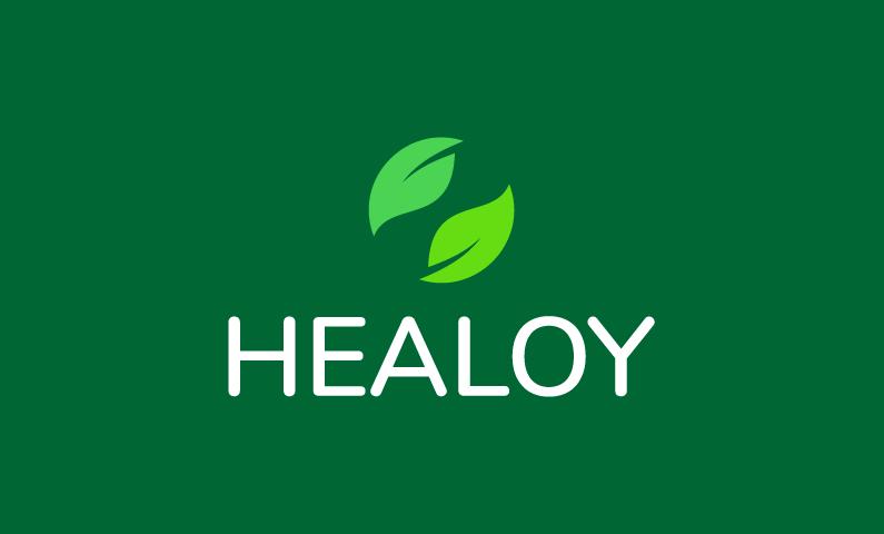 Healoy - Wellness company name for sale