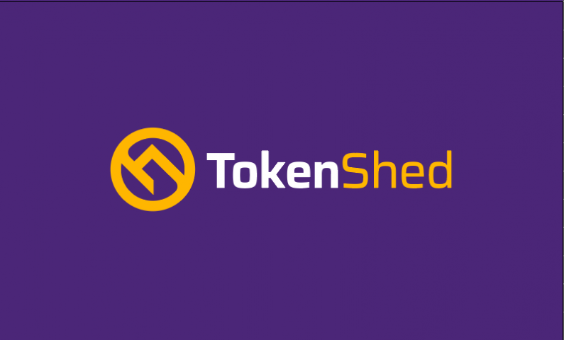 Tokenshed - Cryptocurrency company name for sale