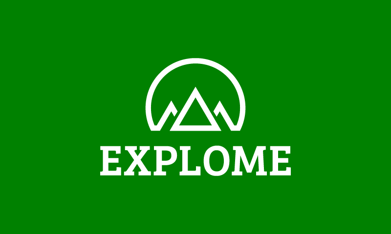 Explome - Travel brand name for sale