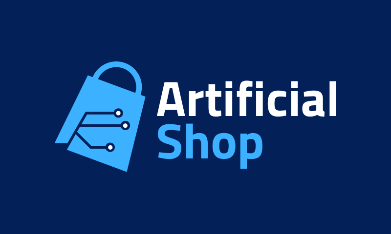 Artificialshop - Artificial Intelligence company name for sale