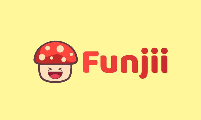 Funjii - E-commerce domain name for sale