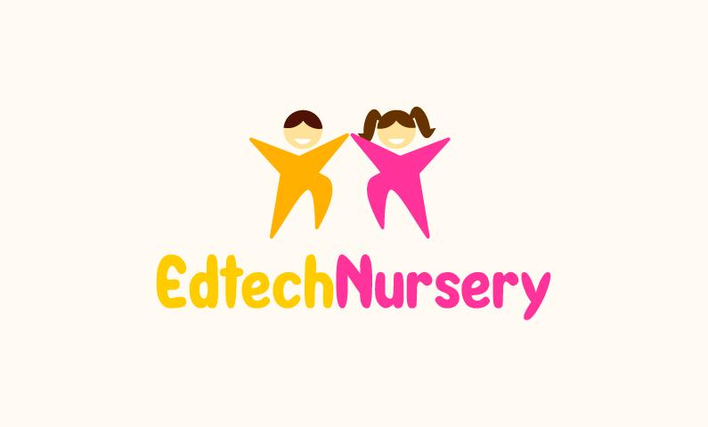 Edtechnursery - E-learning startup name for sale