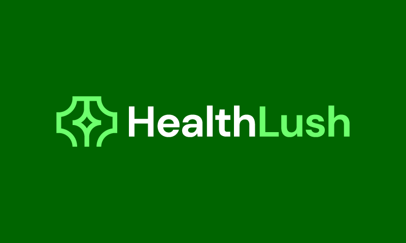 Healthlush - Wellness brand name for sale