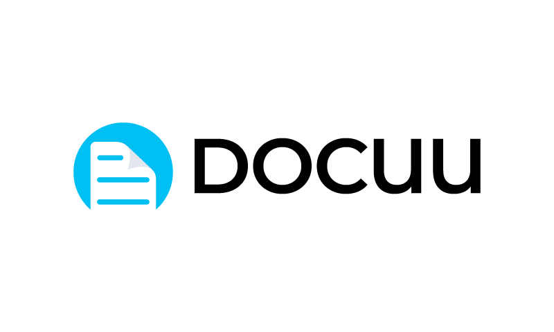 Docuu - Writing domain name for sale