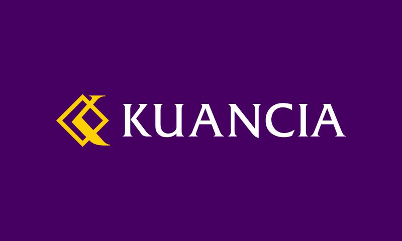 Kuancia - Retail domain name for sale