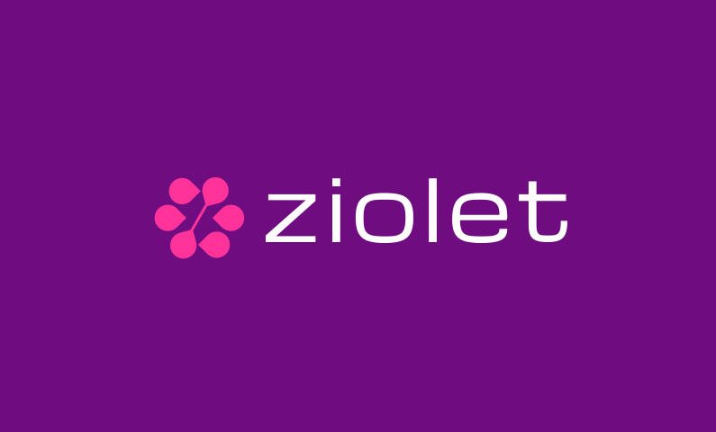 ziolet logo - Brandable domain name
