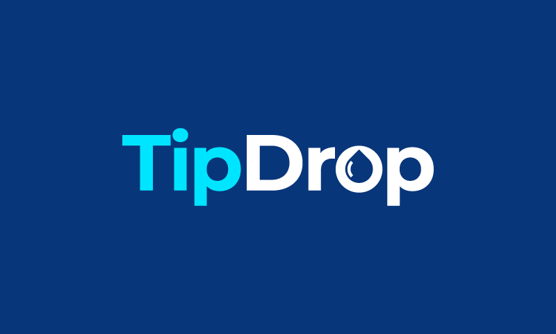 Tipdrop - Finance brand name for sale