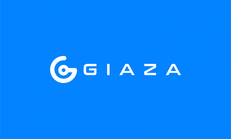 Giaza - Abstract 5-letter brand name