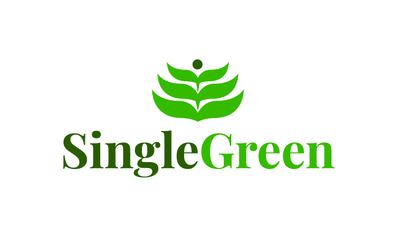 Singlegreen - Contemporary business name for sale