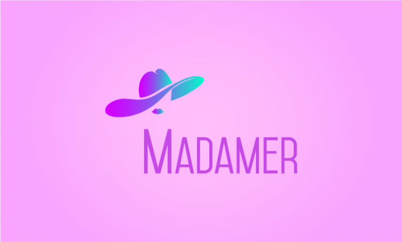 Madamer - Contemporary startup name for sale
