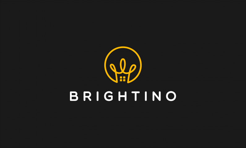 brightino logo - Brilliant domain