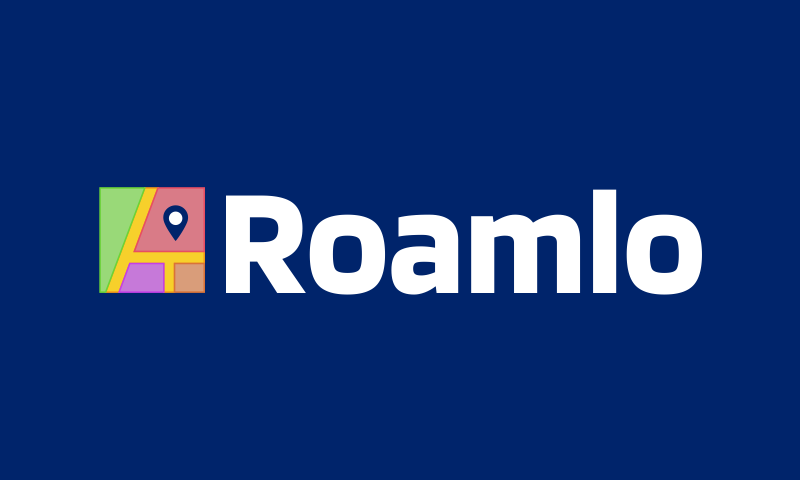 Roamlo - Travel company name for sale