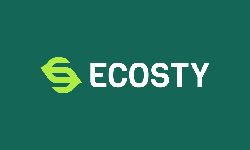 Ecosty - Environmentally-friendly product name for sale