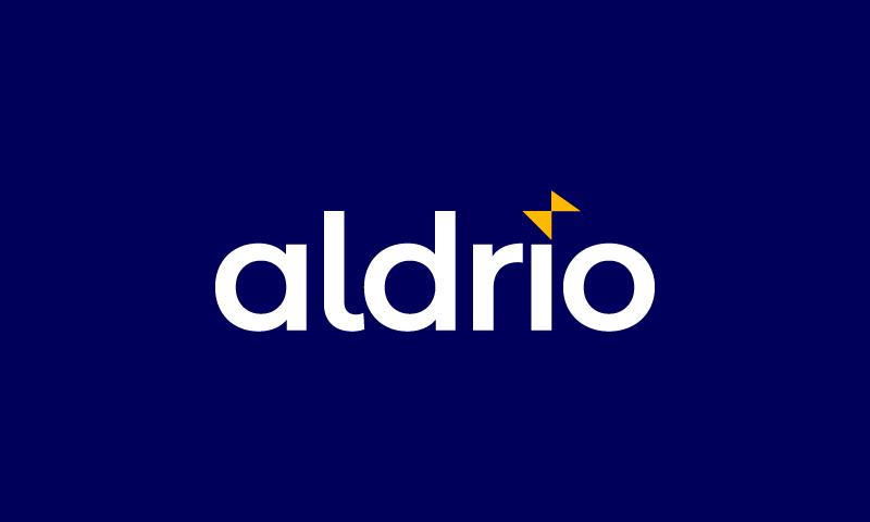 Aldrio - Business brand name for sale