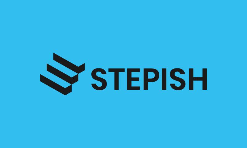 Stepish logo