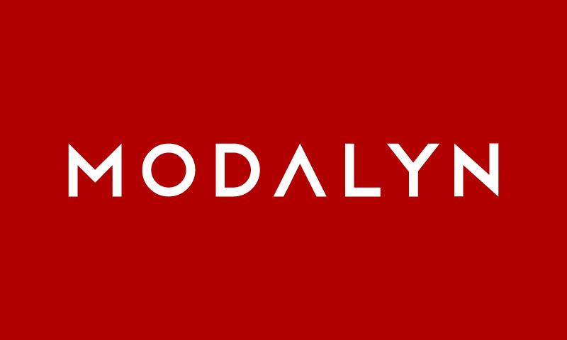 Modalyn - Fashion company name for sale