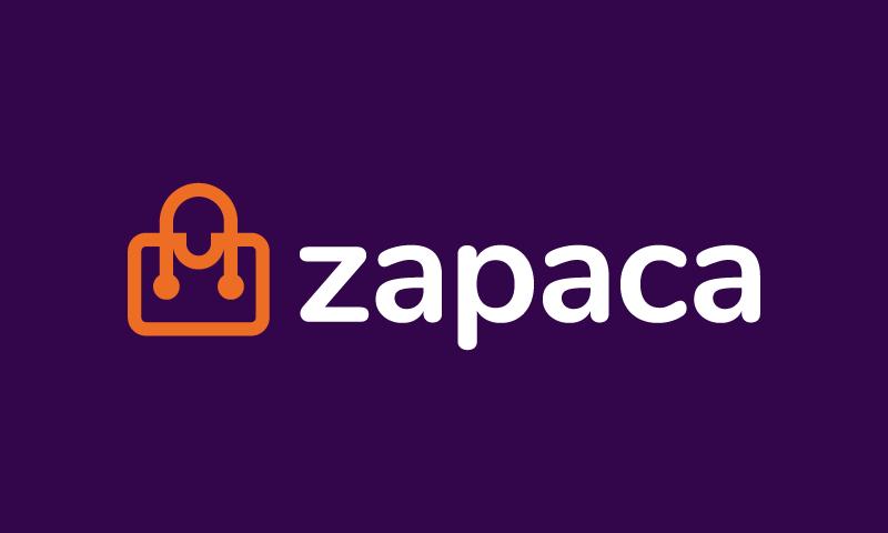 Zapaca - Contemporary domain name for sale